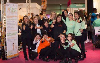 Grande successo della Scuola BSA a ROMA INTERNATIONAL ESTETICA 2016